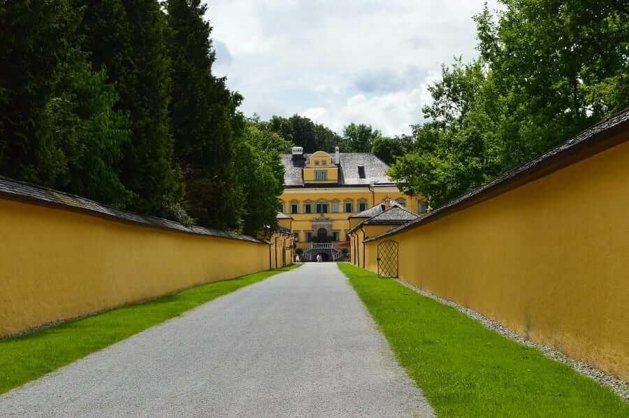 Hellbrunner Allee Entrance