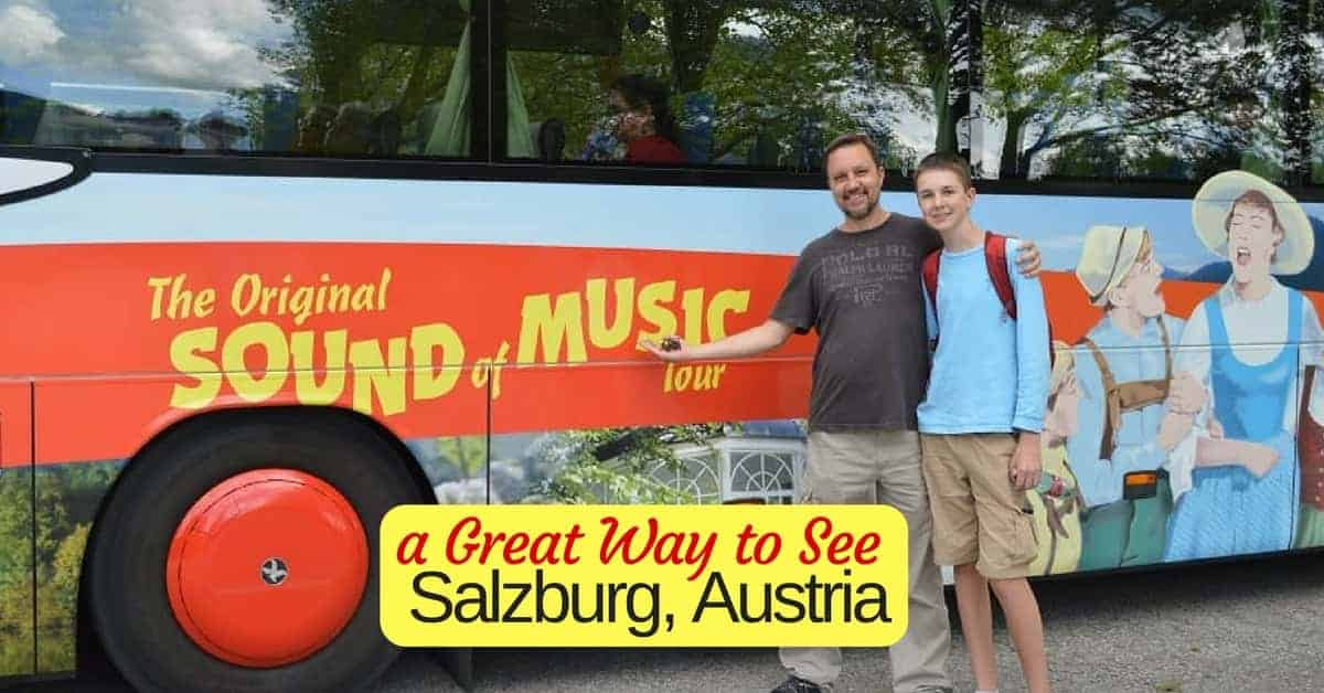 Sound of Music Bus Tour in Salzburg