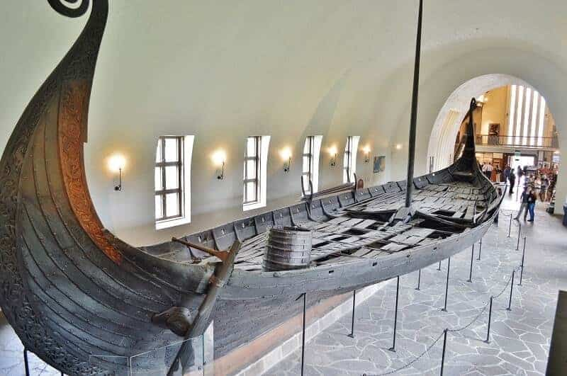 Viking Museum in Oslo Norway