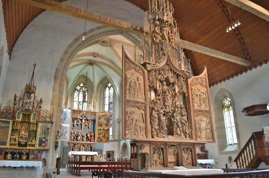 Herrgottskirche Alters at Creglingen