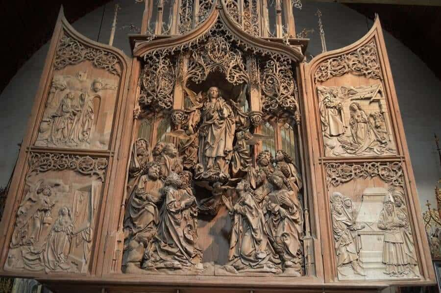 Herrgottskirche Creglingen Alter