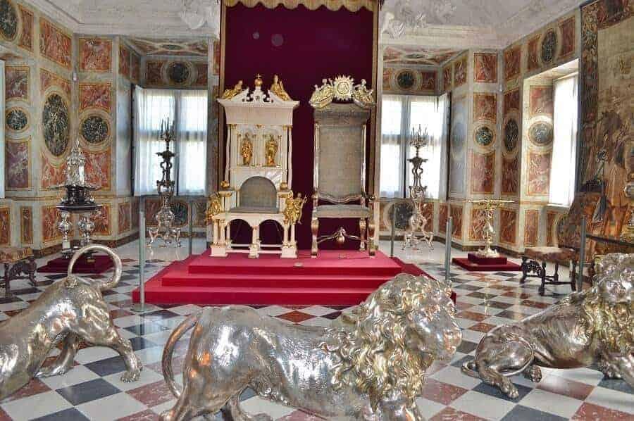 Thrones in Rosenborg Castle