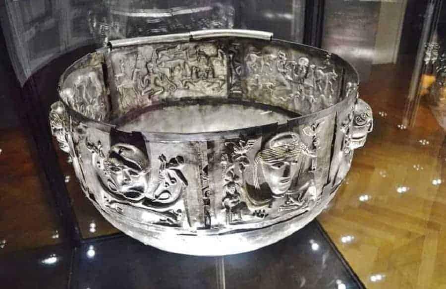 VIking Bowl in Denmark National Museum