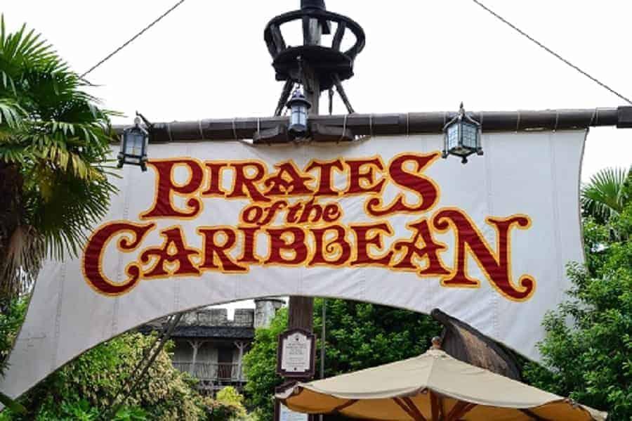 Pirates of the Caribbean Ride in Disneyland Paris