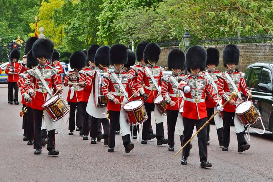 Guard Mounting Drum Band