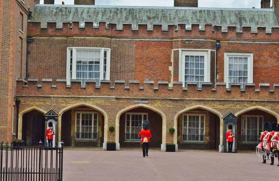 Guard Mounting at St. James
