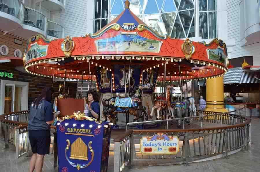 Boardwalk Carousel on Harmony of the Seas