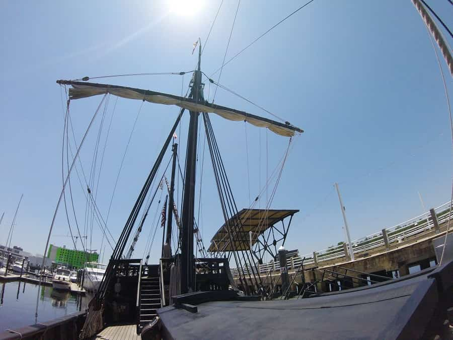 Replica of Columbus SHip