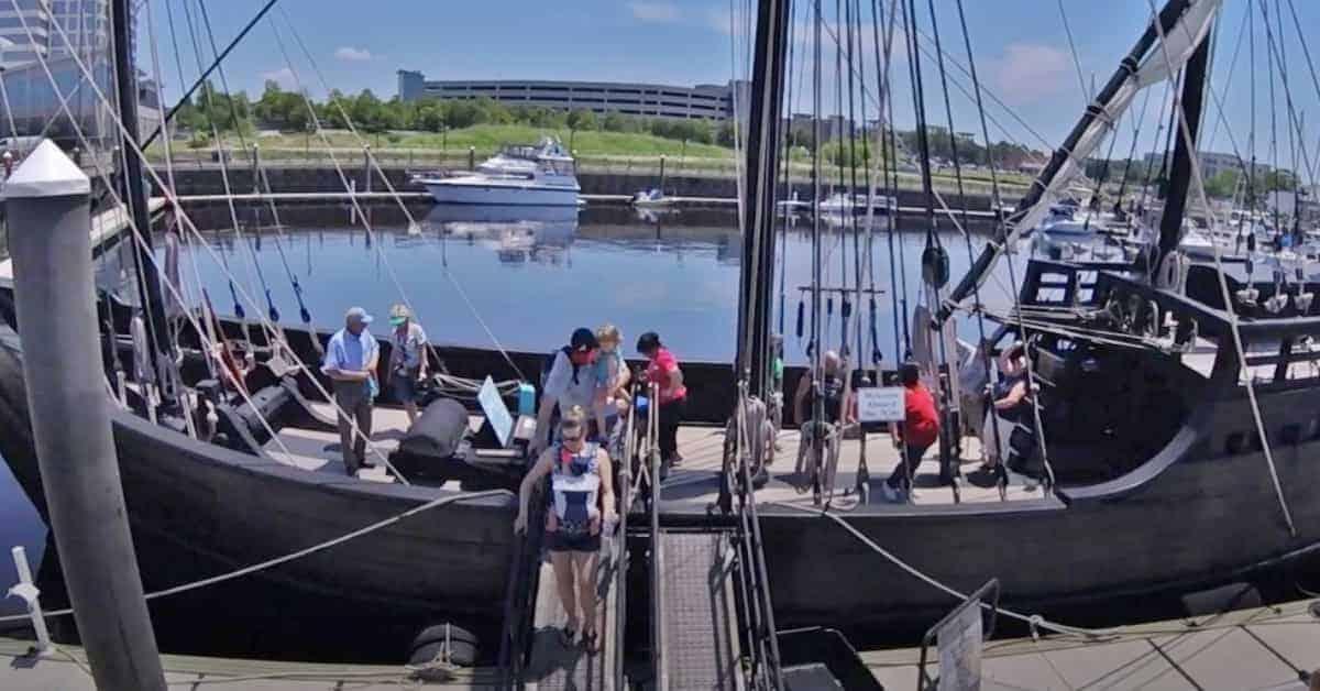 Tour of Columbus' Ships