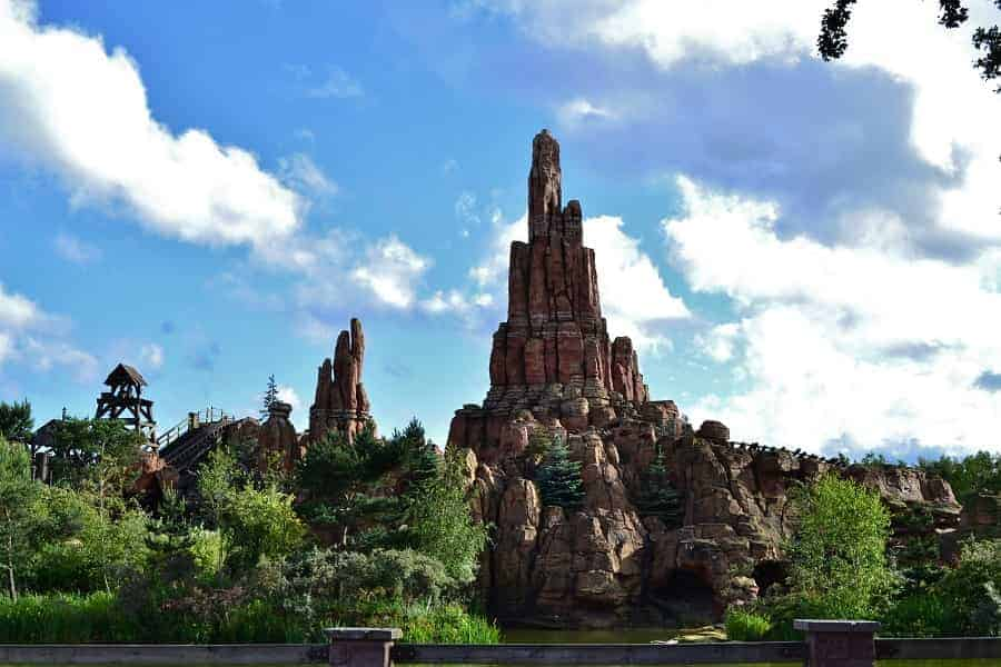 Disneyland Paris Thunder Mountain Railroad