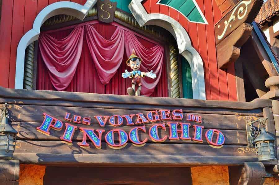 Disneyland Paris Pinocchio Ride