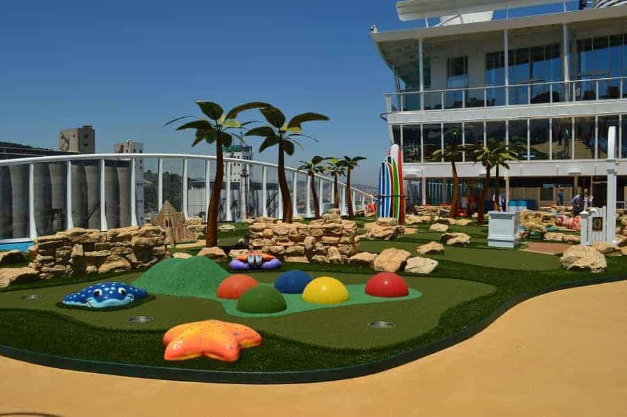 Harmony of the Seas Miniature Golf