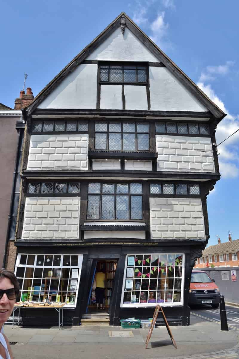 Crooked House in Canterbury England