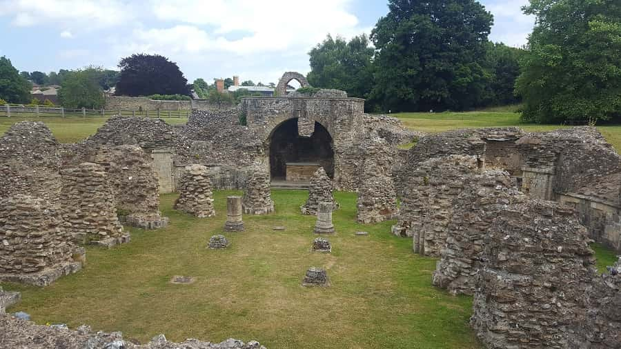 St. Augustine's Abbey Ruins
