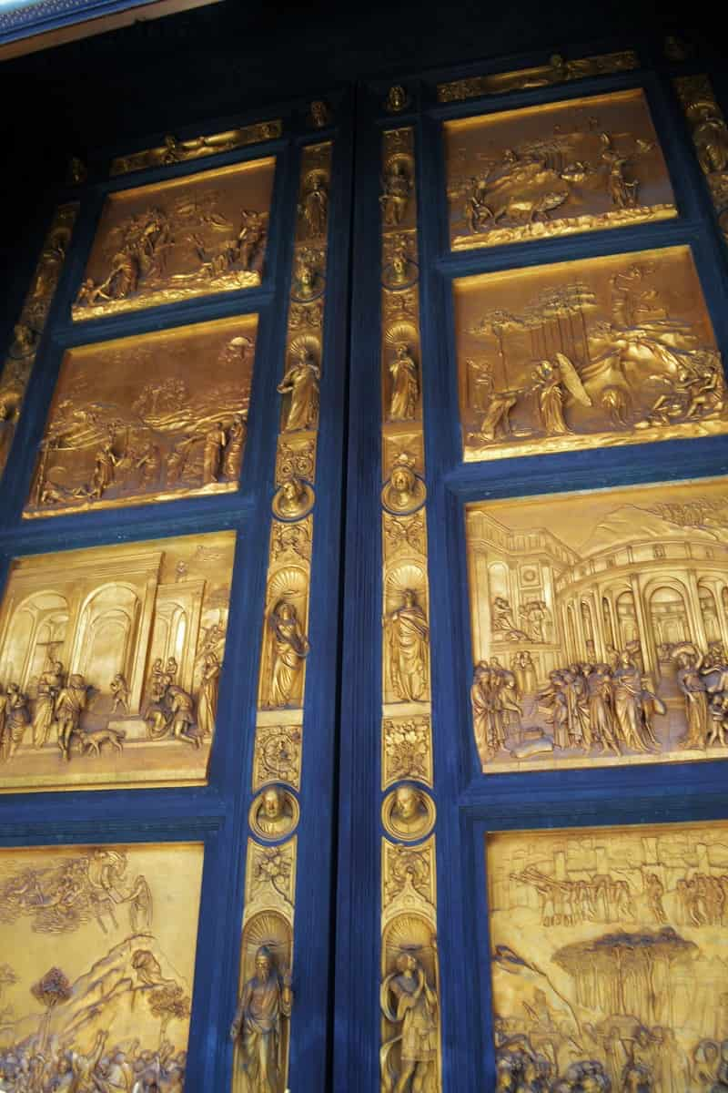 Doors of the Baptistery in Florence