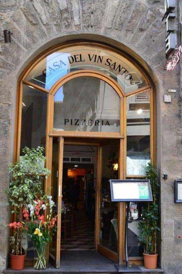 Casa Del Vin Santo Restaurant in Florence