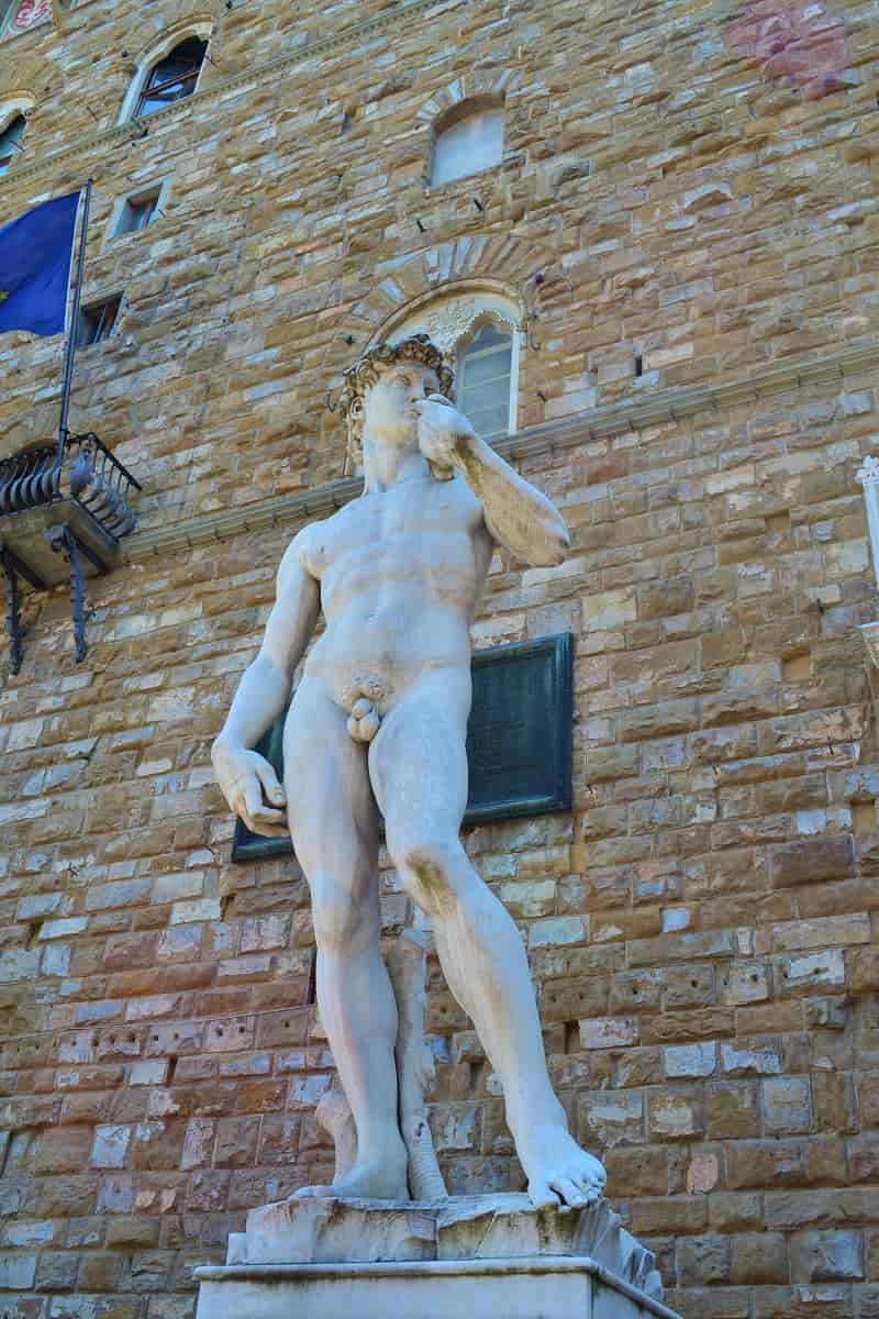 Replica of David Statue