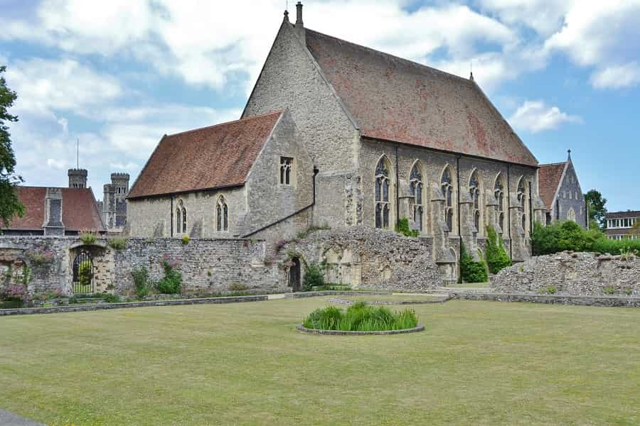 St. Martin's Church in Canterbury