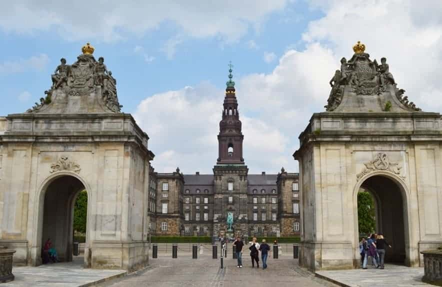 Christiansborg Palace Stable Entrance