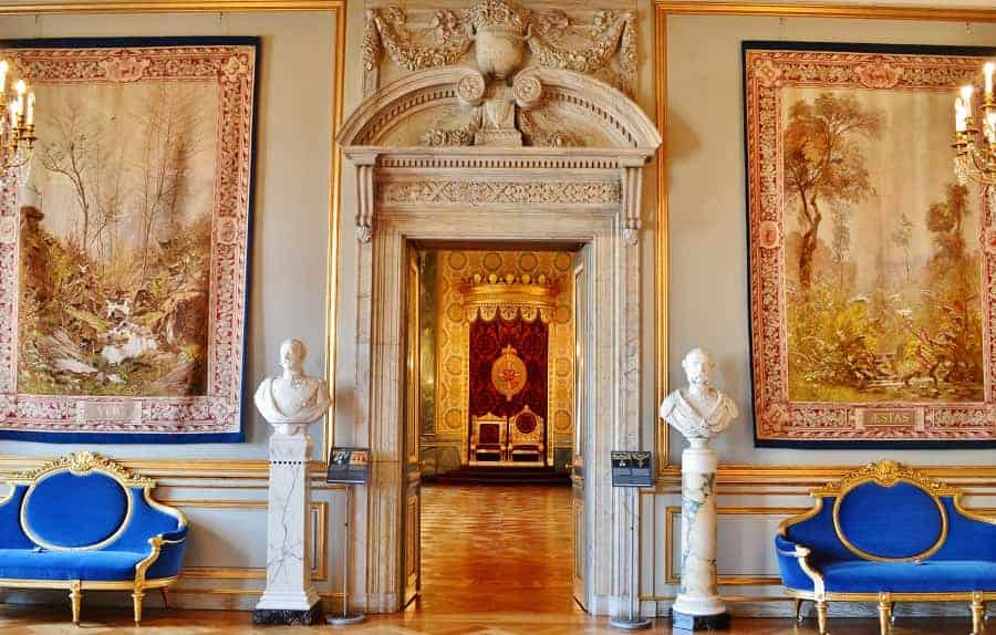 Royal Reception Rooms at Christiansborg Palace Copenhagen