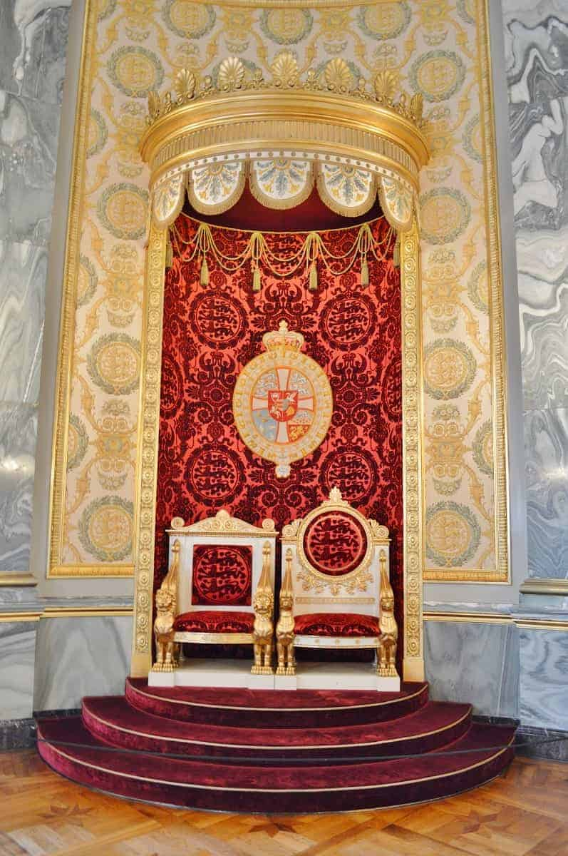 Christiansborg Palace Throne Room