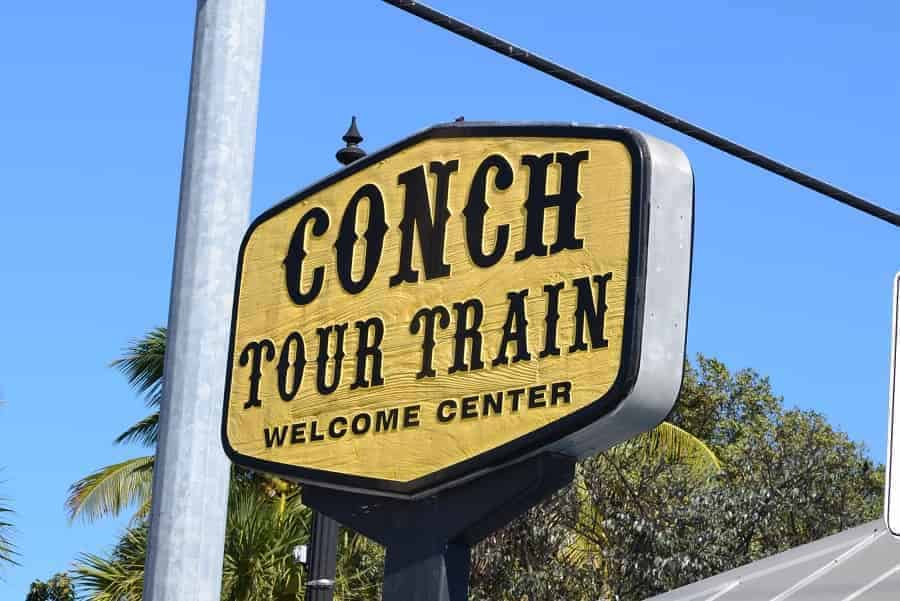 Conch Train Tour in Key West