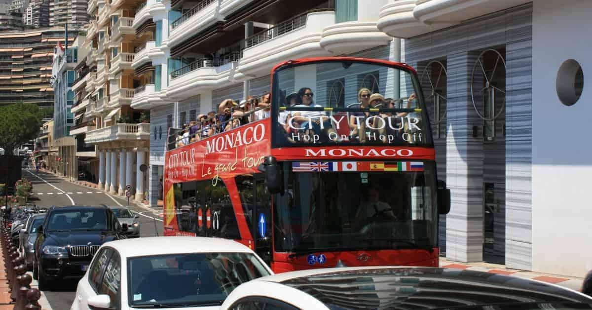 Monaco Hop on & Hop off bus tour