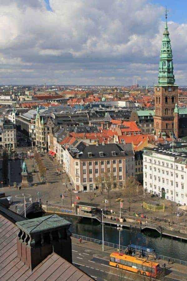 Christiansborg Palace Copenhagen Tower View