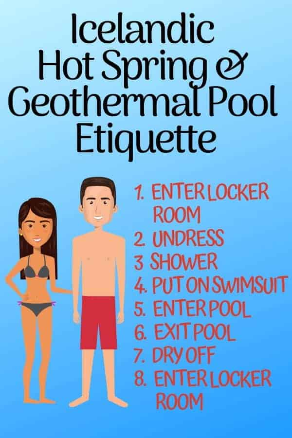 Iceland Hot Spring & Geothermal Pool Etiquette