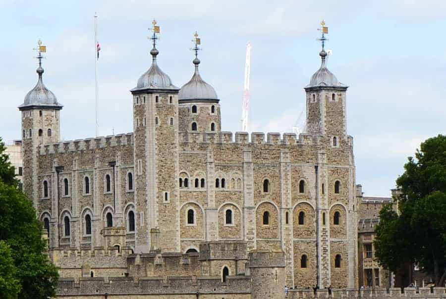 Tower of London stop on Big Bus Tour