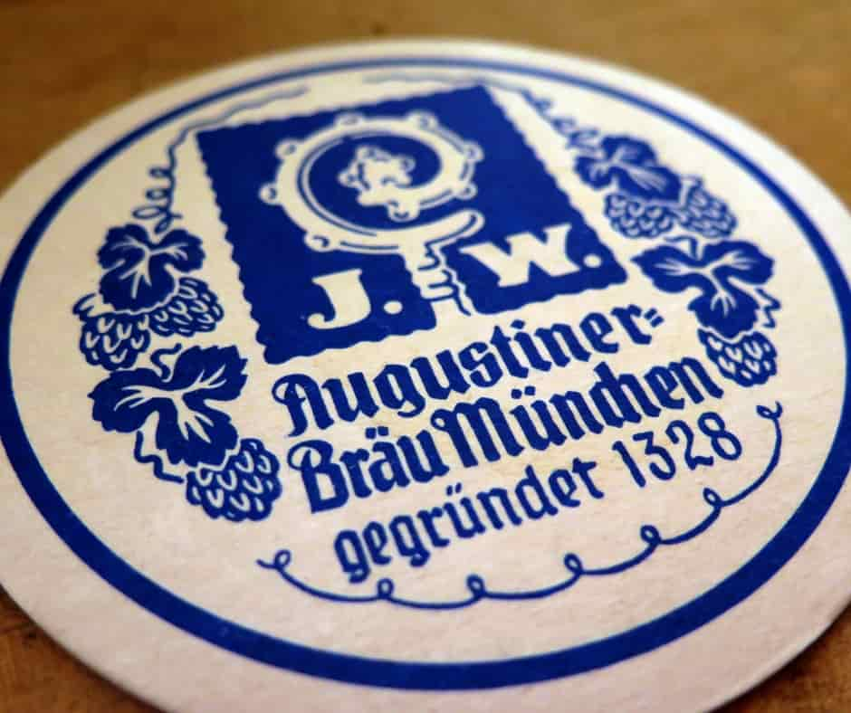 Augustiner is a must do in Munich