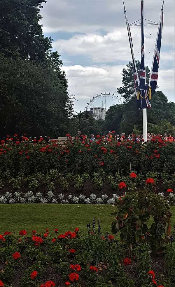 Buckingham Palace Green Gardens