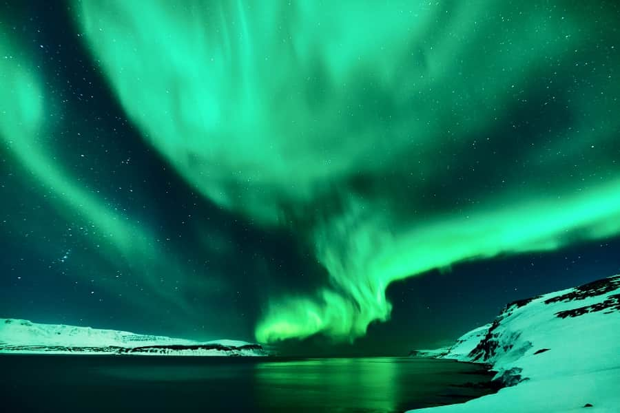Best time to see Iceland Northern Lights