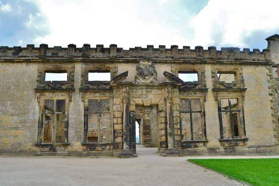 Terrace Range at Bolsover Castle