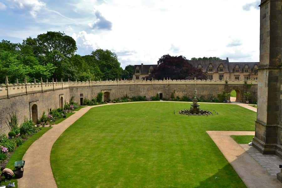 Bolsover Castle Courtyard