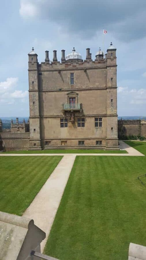 Bolsover Castle in England