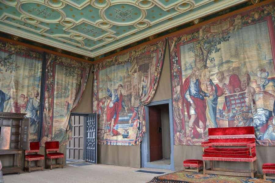 Throne Room at Bolsover Castle