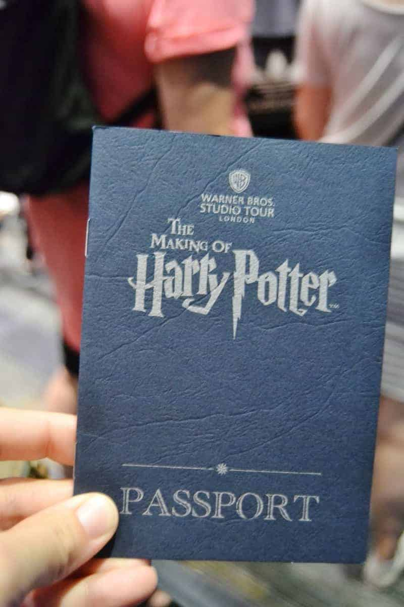 Harry Potter Experience Passport Guide Book