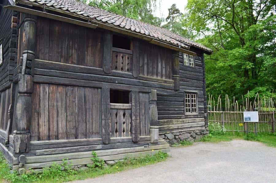 Nordre YI Farmhouse at Folk Museum in Oslo