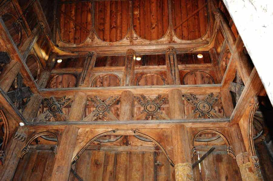 Gol Stave Church Woodwork