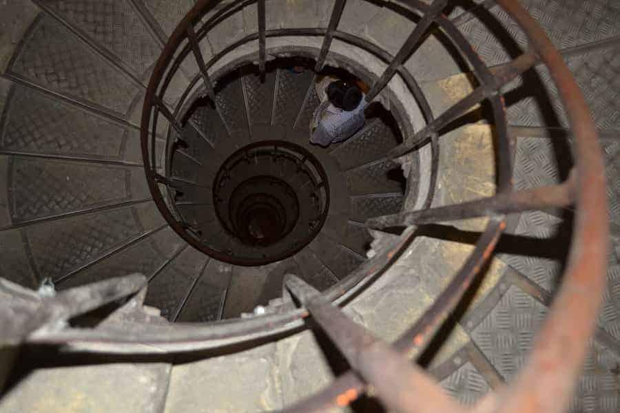 Arc de Triomphe Spiral Staircase