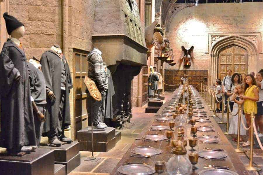 The Great Hall from Harry Potter Films