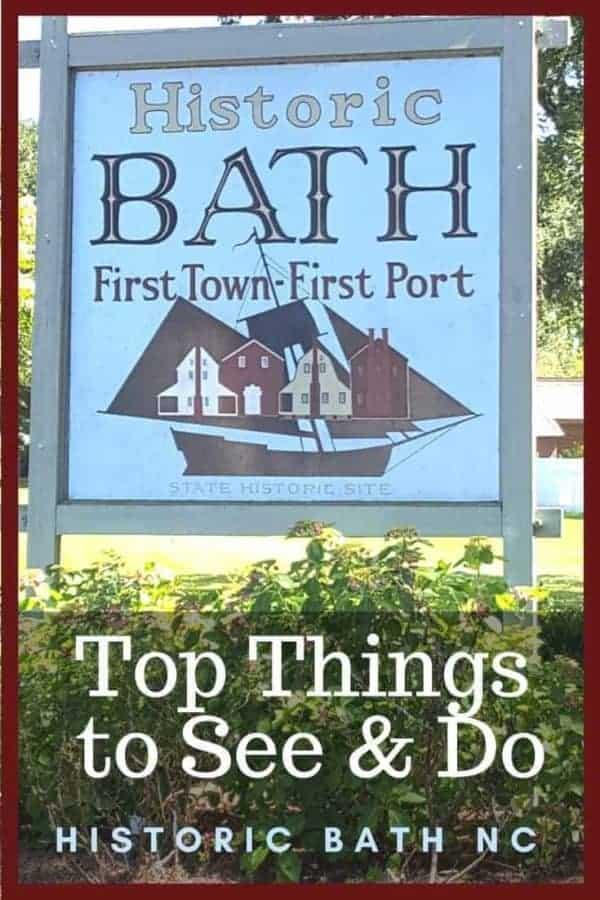 Things to See in Historic Bath, North Carolina