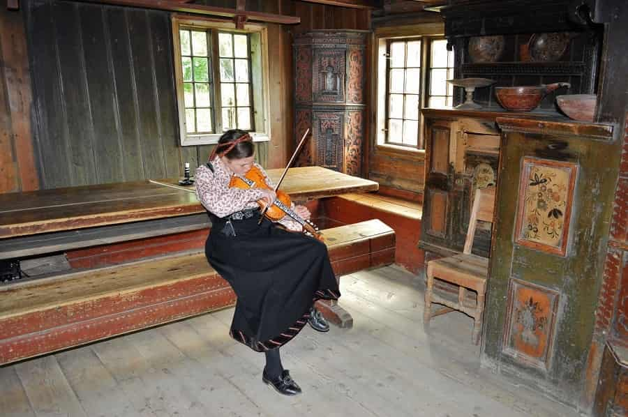 Interior of the Norde YI Farmhouse