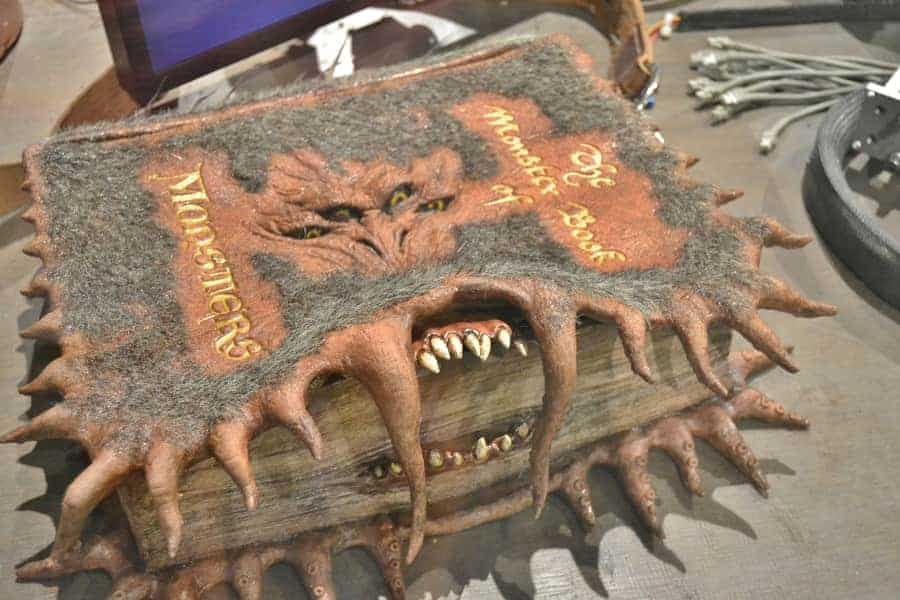 Monster Book of Monsters from Harry Potter