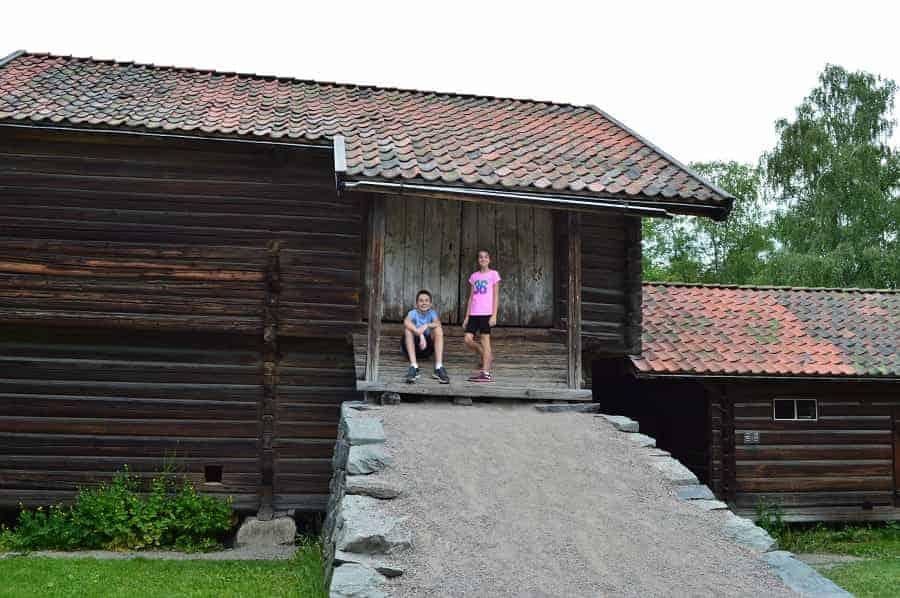 Norwegian Barn in Norway Folk Museum