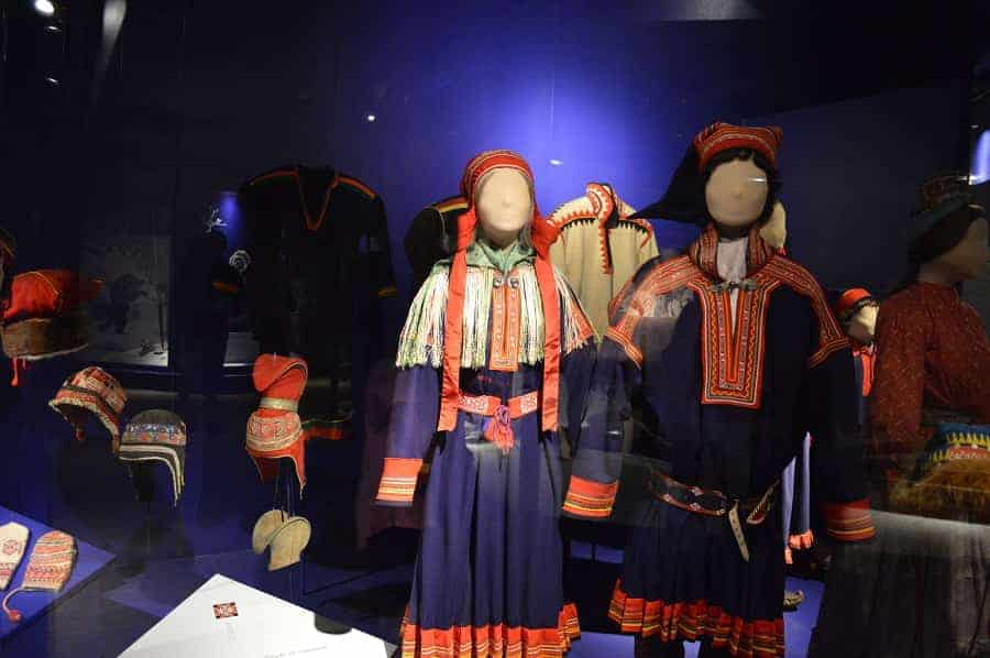 Norwegian Folk Museum Outfits