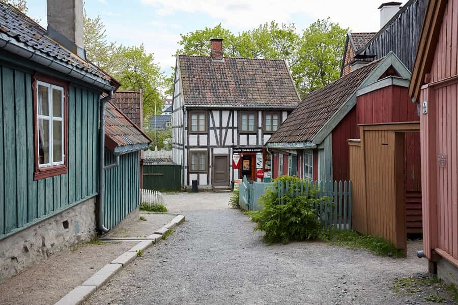 Old Town Norway Folk Museum