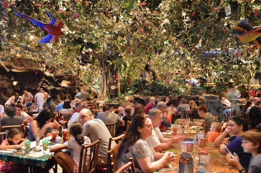 Rainforest Cafe Jungle