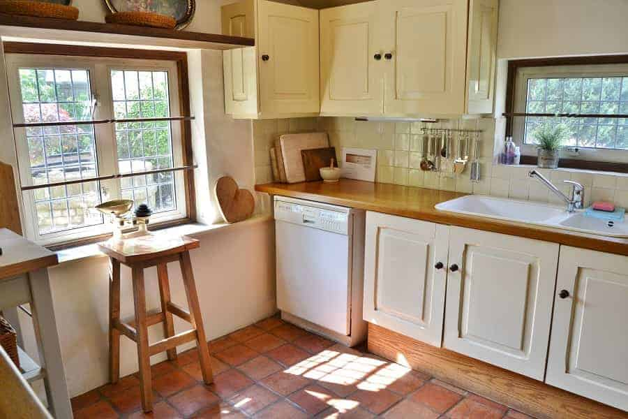 Kitchen at the Rose Cottage